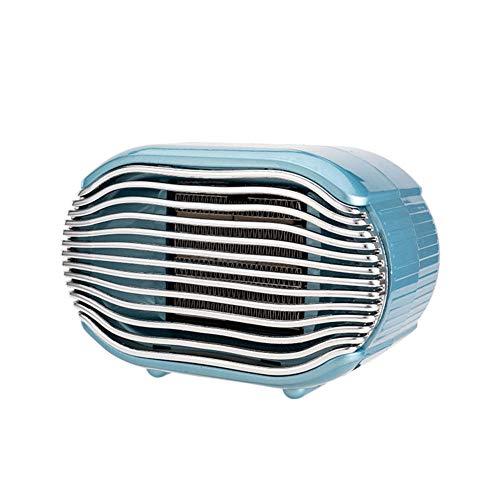 Cxry-Kit Petit radiateur Silencieux, radiateur électrique Neutre Vertical, pour Petit radiateur de Bureau.-Bleu
