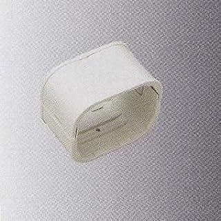 桃陽電線 《トーヨーダクトシリーズ》 ダクトジョイント 80タイプ ホワイト DJ-80WH