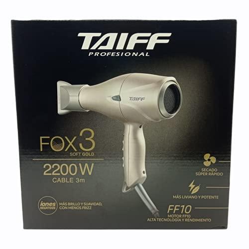 CHCS - TAIFF Fox 3 Ion tc Hair Dryer 2200 watts + 2 Speeds + 5 Temperature + Negative Ion Generator