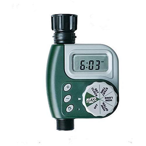 Programador de Riego Automatico Temporizador Dispositivo temporizador de riego automático, Riego controlador electrónico temporizador, pantalla LCD a prueba de agua, for el jardín, invernadero, planta