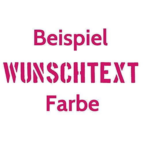 Aufkleber Autoaufkleber Name Wunschname Sticker Wunschtext - individuell ! (041 pink)