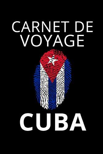 Carnet de Voyage Cuba: Journal de voyage Cuba - pour entrer vos expériences et souvenirs - 120 pages, grille de points - Idée cadeau pour les fans du Cuba - format 6x9 DIN A5 - couverture souple matte