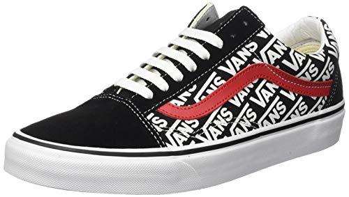 Vans Herren Old Skool Sneaker, Schwarz (Black Vn0a4bv5tij1), 44.5 EU