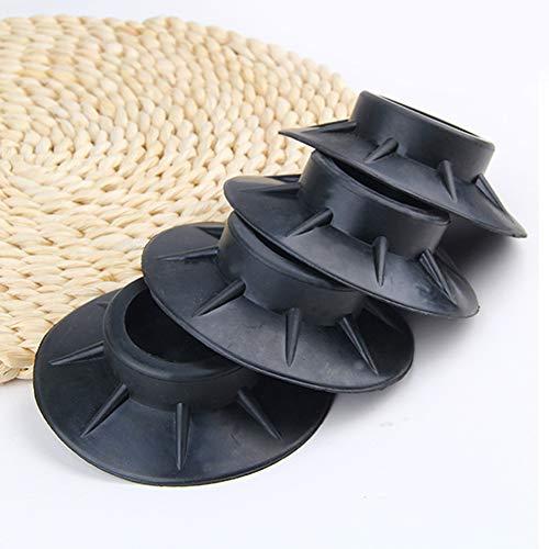 CLIUS Voeten Pads 4 stks Wasmachine Mat Anti Vibratie Elasticiteit Niet Slip Meubilair Schokbestendig Rubber Beschermers Universele Vloeraccessoires