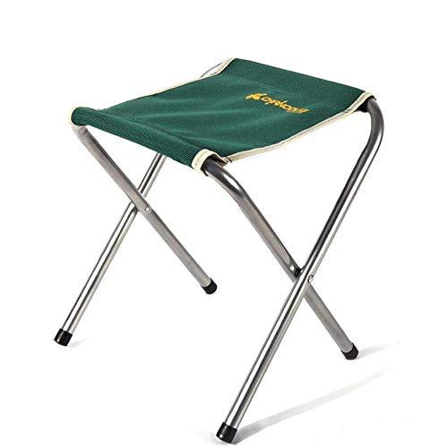 YLCJ open klapstoel om te vissen opvouwbare dubbele laag strandstoel met JINRONG-klapstoel (kleur: rood) groen