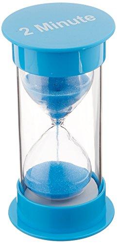 Teacher Created Resources 2 Minute Sand Timer - Medium - 20758,Blue