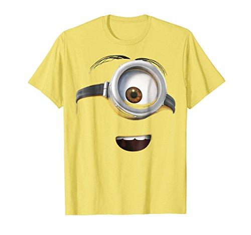 Despicable Me Minions Stuart Only His Face Graphic T-Shirt