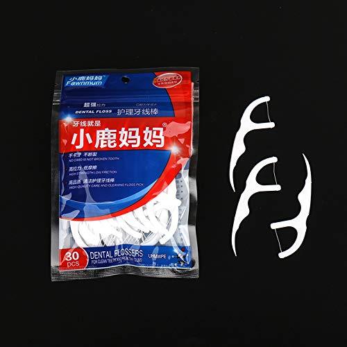 KINWAT 30pcs pack Dental Flosser Inte eth Te rdental Brush Ranking TOP4 Max 70% OFF Stick