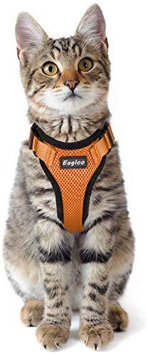 Eagloo No Pull Dog and Cat Harness Set Walking Pet Harness
