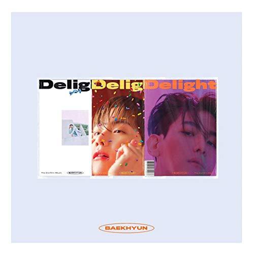SM Ent Baekhyun - Delight (2nd Mini Album) Album+Extra Photocards Set (Honey ver.)