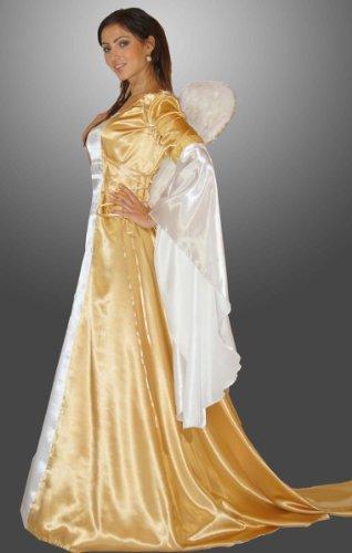 MAYLYNN 17235-S-M - Engel Kostüm Eneye Gold, Größe S/M, Circa 40, Gold