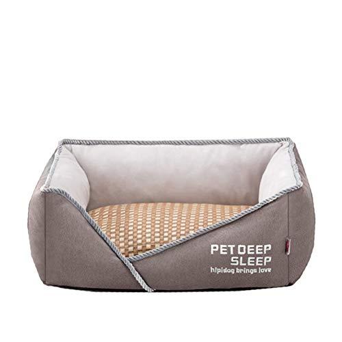 RXL Robusta perrera universal extraíble y lavable de verano para perros pequeños suministros para mascotas cómodo (color: B, tamaño: S (5 kg))