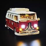 TETAKE Kit de LED Éclairage Jeu De Lumières pour Lego 10220 Le Camping-Car Volkswagen T1 - (Lego Modèle Non Incluse)
