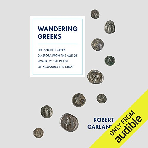 Wandering Greeks audiobook cover art
