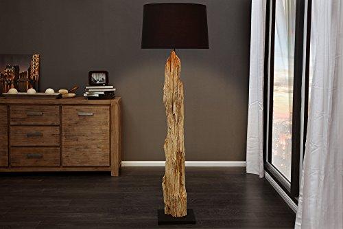 *DuNord Design Treibholz Stehlampe RELIKT 175 cm (schwarz)*