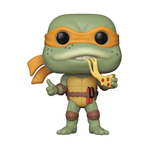 Funko- Pop 1990-Michelangelo Teenage Mutant Ninja Turtles 1990 Michelangelo Figura Coleccionable, Multicolor (51433)
