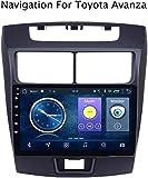 Car Stereo Bluetooth Android 8.1 Zoll GPS-Navigator 9 MP5 für Toyota Avanza 2010-2016 Unterstützung Lenkrad Spiegel Link USB DVR Dab AUX BT, 4G + WiFi, 2 + 32g,4g + WiFi, 2 + 32g,9 Zoll