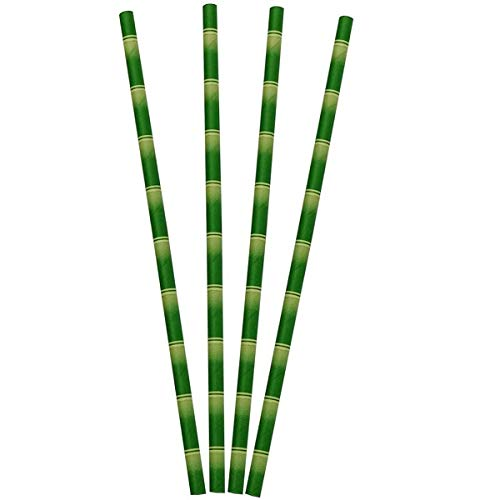 ZERAY®. PAPITRINKS.200 cannucce di carta biodegradabili di alta qualità, ecologiche, compostabili