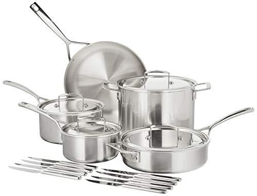 ZWILLING J.A. Henckels Aurora Cookware Set, 10-piece, Stainless Steel