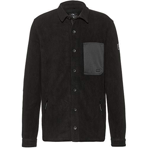 BILLABONG™ Track - Fleece Shirt for Men - Fleece-Hemd - Männer - M - Schwarz