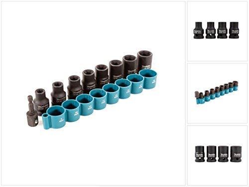 Makita B-54645 Schlag-Steckschlüsseleinsatz, blau, 1/2 Inch