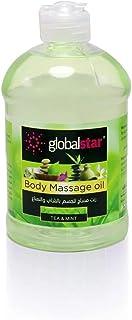 Global Star Tea and Mint Body Massage Oil 500 ml