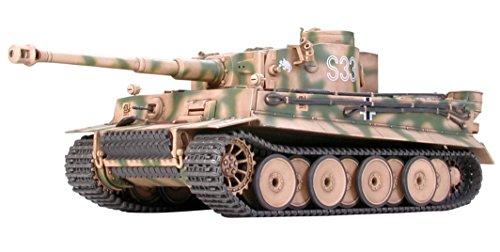 タミヤ 1/48 ミリタリーミニチュアシリーズ No.04 ドイツ陸軍 重戦車 タイガーI 初期生産型 プラモデル 32504