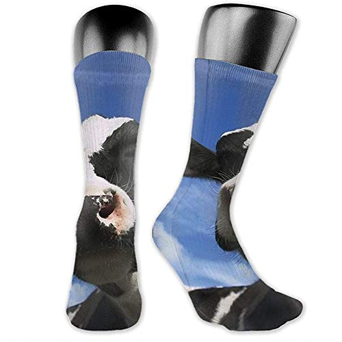 Tornado Flying Cow Calcetines casuales unisex Calcetines