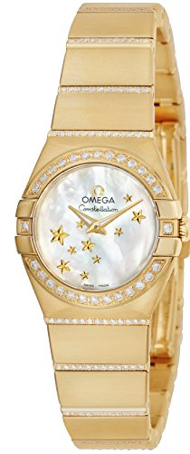 [オメガ] 腕時計 Constellation ホワイトパール文字盤 ダイヤモンド 123.55.24.60.05.002 レディース 並行輸入品 ゴールド