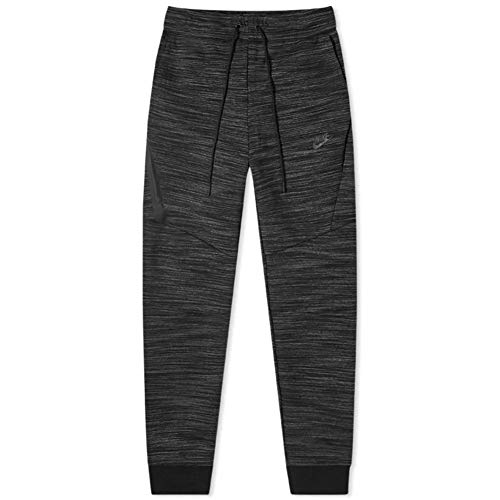 Nike NSW Tech Fleece Heather Joggers Ct7745-010 para hombre - Negro - Large
