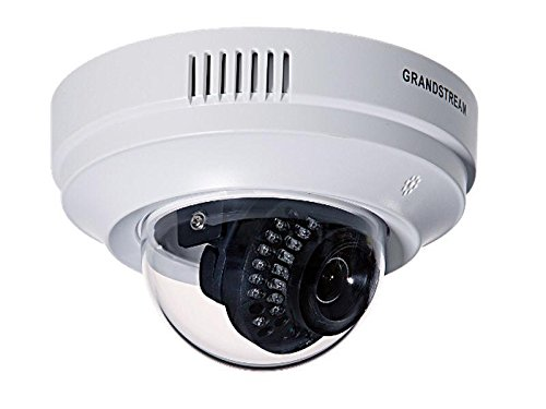 Grandstream Networks GXV3611IR_HD - Cámara de vigilancia (Cámara de Seguridad IP, Interior, Almohadilla, Blanco, Techo/Pared, De plástico)