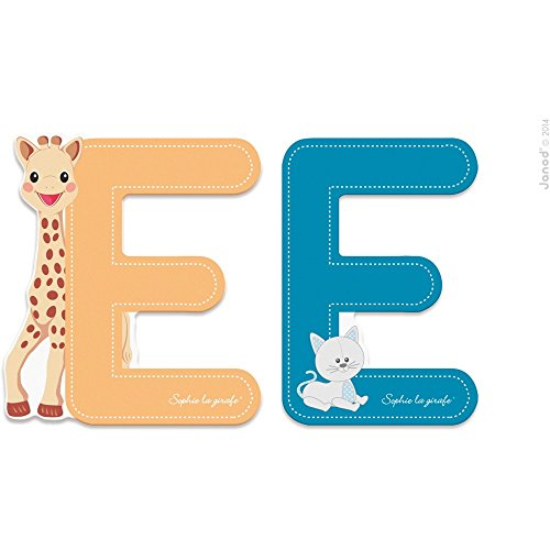 Sophie la Girafe Lettres E