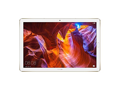 Huawei MediaPad M5 Pro Tablet with 10.8' 2.5D Display, Octa Core, Quick Charge, Quad Harman Kardon-Tuned Speakers, WiFi Only, 4GB+64GB, Champagne Gold (US Warranty)