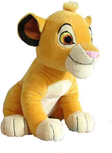 LANCOLD 1pcs süße Löwe Plüsch Spielzeug, sitzen deich soft stuffed Animals Puppe für Kinder Geschenke hoch 26cm