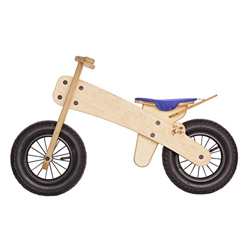 Luxus Luxus Lauflernrad / Laufrad - Balance aus Holz Kinder Fahrrad Laufrad Classic DipDap blau mini für Kinder ab 2 Jahren