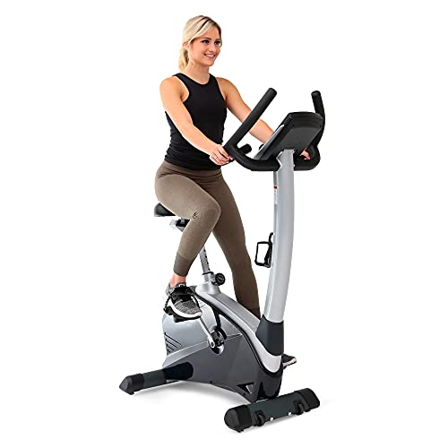 3G Cardio Elite UB Upright Bike - Commercial Grade - Compact Footprint - Ultra Comfortable Seat - Magnetic Resistance - 350 LB User Capacity