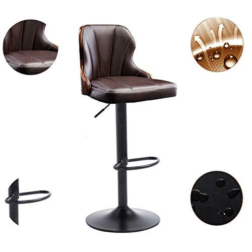 ASIER kruk tafel met stoelen kruk tafel zitkussen barkruk, draaibare barkruk met rugleuning, moderne retro industriële hotel-uitgebreide hoge kruk