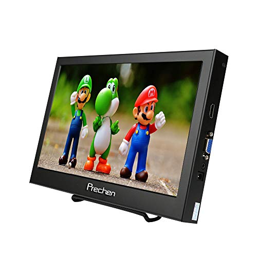 Prechen Portable Monitor 10.1 Inch HDMI Monitor Display 1366x768 IPS Screen Poratble Display for...