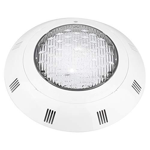 Oumij1 LED-Poolbeleuchtung - 12V 24 LED RGB Mehrfarben-Unterwasserpool Helles Licht mit Fernbedienung für Terrasse, Garten und Pool