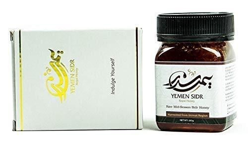 Yemen Sidr Honey Authentic (Mid-Season) (Usimi w/Honeycomb, 285g)