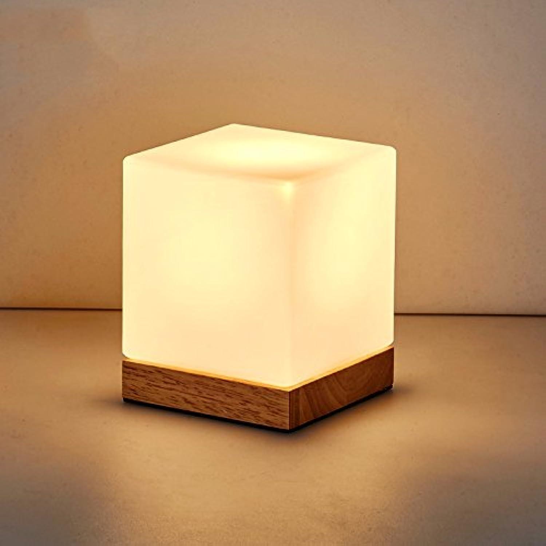 Einfache Schlafzimmer Nachttischlampe, Holz LED Augenschutz Leselampe, 12W LED, 16 B074FWG1RP | Wirtschaft