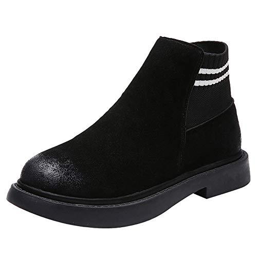 ZODOF Botas De Mujer Zapatos Borla Retro Para Mujer Bota Navidad Con Cordones Y Punta Estrecha En Punta De Cuero
