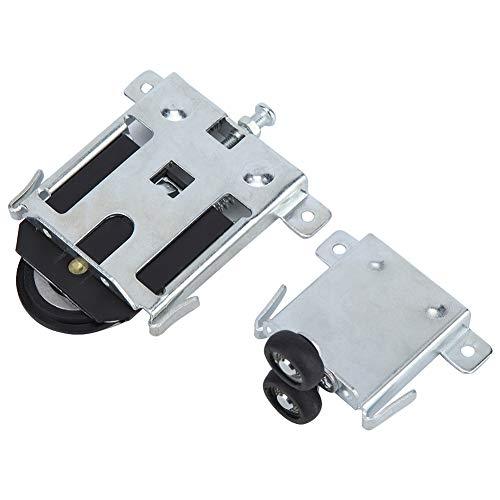Dörrhjul – legering garderob dörrhjul universell skjutdörr rulle reservdelar tillbehör