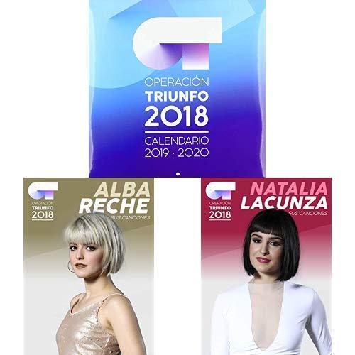 Pack Operación Triunfo 2018: Somos+ Calendario + Alba Reche: Sus canciones + Natalia Lacunza: Sus canciones