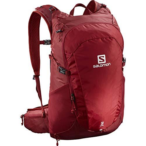 Salomon Trailblazer 30 L Multifunktions-Rucksack Mit 3D-Komfort Und Trinkblasen-Kompatibilität Für Wanderungen