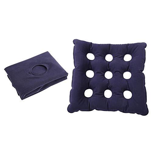 Cuscino gonfiabile ad aria,cuscino gonfiabile per sedile ad aria carrozzina antidecubito,seggiolino per ufficio in PVC, sedile traspirante (480)