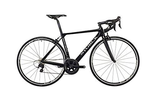 Storck Bicycle Aernario Comp 105 black glossy Rahmengröße 55 cm 2016 Rennrad