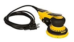 the first random orbital electric sander using advanced brushless DC motor technology, without the need for an external power transformer. Performance unequaled by any competitive electric tool can now be found within reach of any standard 110 volt o...