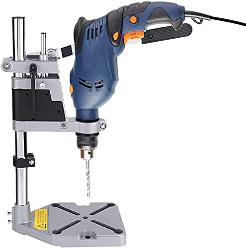Drill Press Stand Universal Adjustable Regular store Clamp Des Aluminum shopping Bench