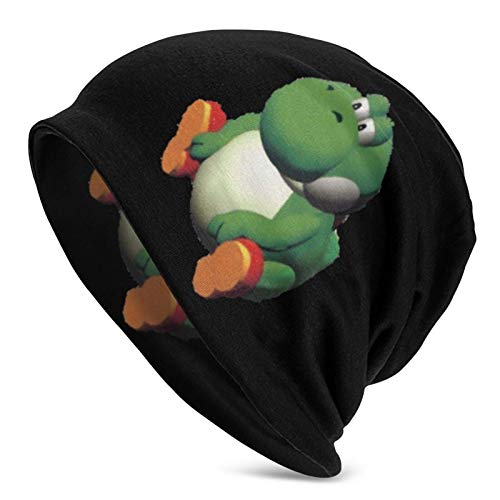 485 Beanie Sombrero Hombres Y Mujeres Gordo Yoshi Sombrero De Beanie Universal Gorros De Slouch Cráneo Unisex Slouchy Gorra Transpirable Watch Cap Beanie